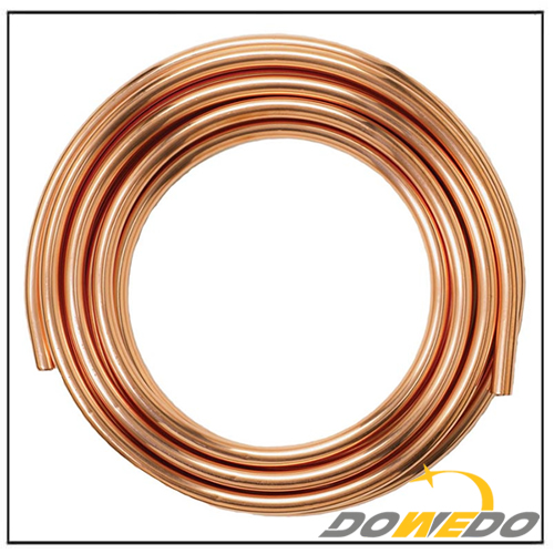 Refrigeration Straight Copper Tubing Pipes