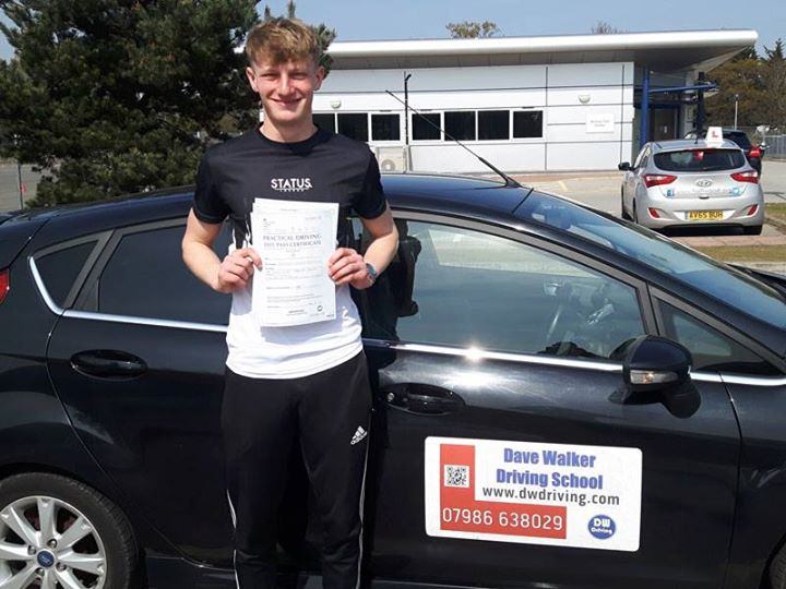 Driving Lessons Royal Hospital SchoolVery well done Harvey Crallan who passed his practical driving test on his first attempt, with only 2 minor faults, at the Ipswich Driving Test centre on 18 April. Have a great time in your car, but don't forget the black box!