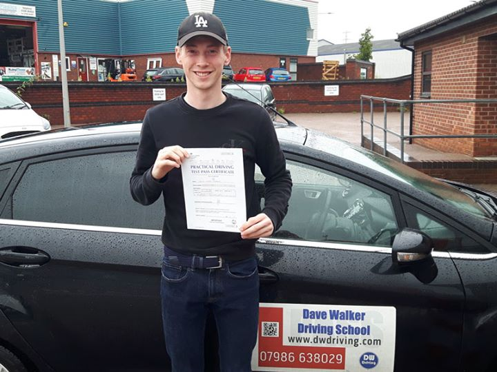 Driving Lessons ColchesterCongratulations to Jamie Warren who passed his practical driving test on his first attempt, with only 2 minor faults, at the Colchester Driving Test centre on 14 August. Enjoy your drive to work and get prepared for driving in Holland!