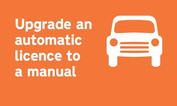 Find out how to upgrade an automatic car driving licence to a manual one. 🚗⬆https://www.gov.uk/automatic-driving-licence-to-manual