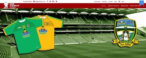 Jack Kiernan and Sons E-Commerce Website