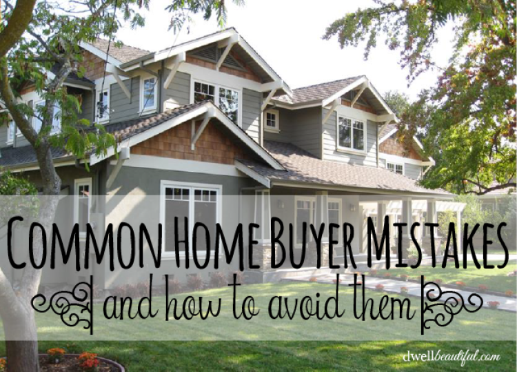 common home buyermistakes