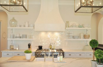 pearlescent subway tile