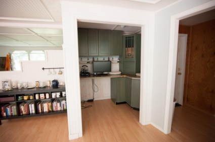 house tour cottage office nook