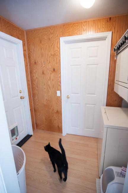 house tour cottage laundry room