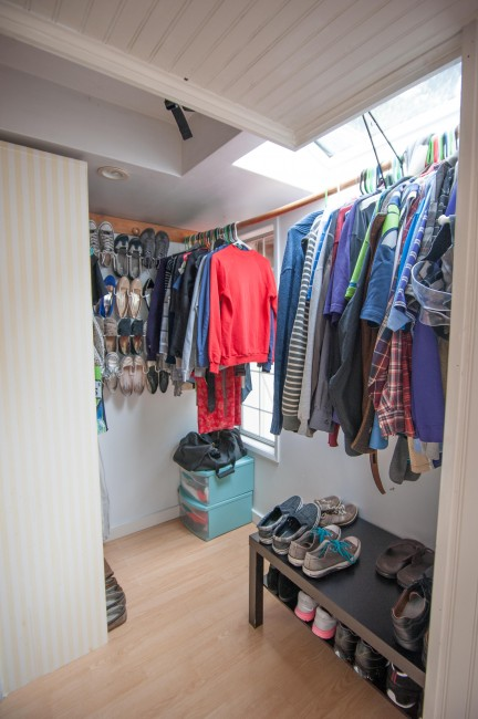 house tour cottage master closet