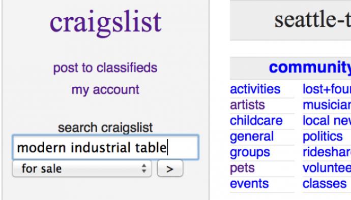 buying on craigslist
