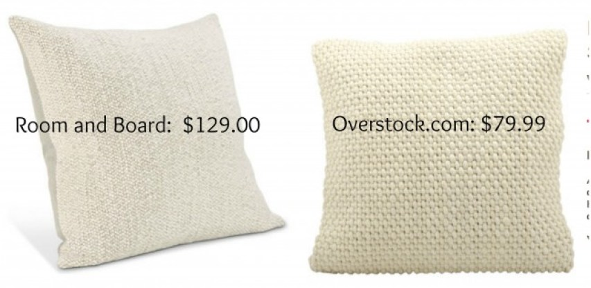 Get the look for less room and board bedroom dwell for Room and board pillows