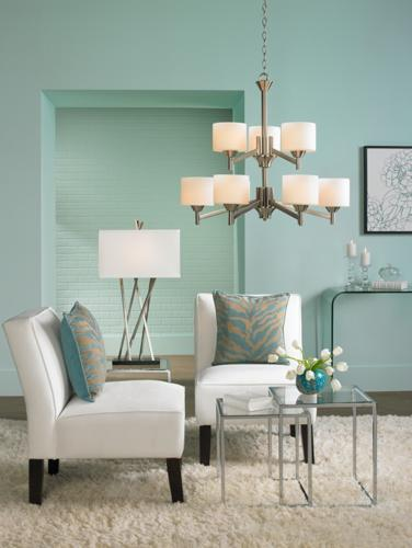 Bringing Aqua Home Decor Into Your Living Room Makes For A Posh And  Sophisticated Statement. Glam It Up With Some Golds, Blacks, And Whites, Or  Make It More ...