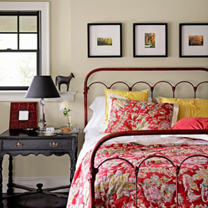country farmhouse bedroom decorating ideas from Between Naps on the Porch