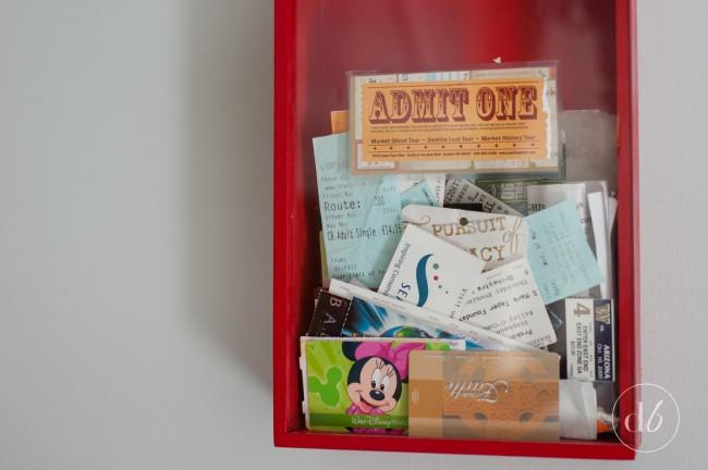 ticket stube memory box