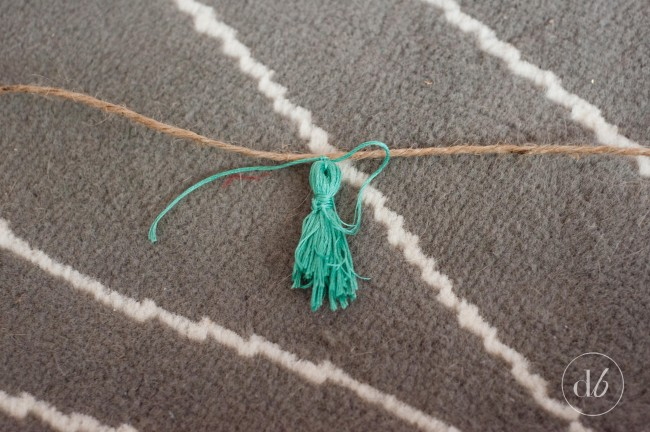 tassel garland