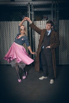 Doctor Who. diy halloween couples costumes  sc 1 st  Dwell Beautiful & 10 DIY Halloween Couples Costumes - Dwell Beautiful
