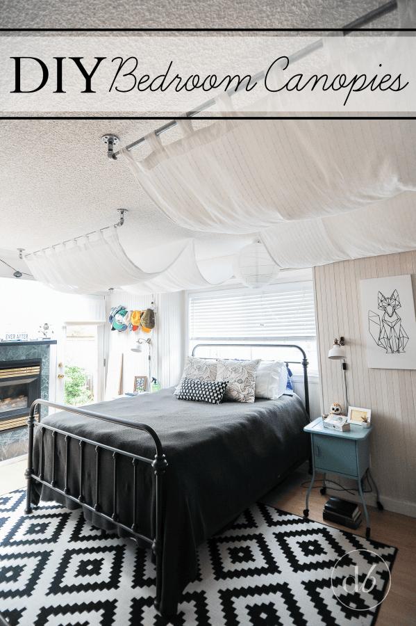 February Diy Challenge Bedroom Canopy Dwell Beautiful