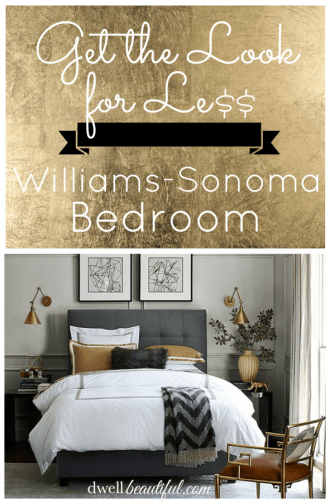 williams-sonoma bedroom