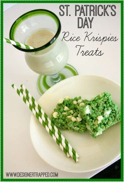 http://designertrapped.com/2014/03/st-patricks-day-rice-krispies-treats-fun-kiddos.html