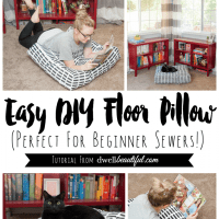 Artek Fabric DIY Floor Pillow