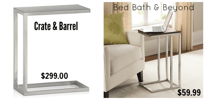 get the look for less crate and barrel