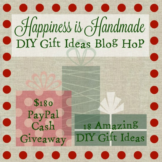 happiness is handmade diy gift blog hop