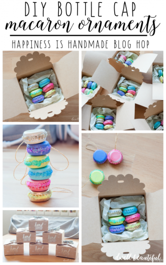 mini french macaron ornaments