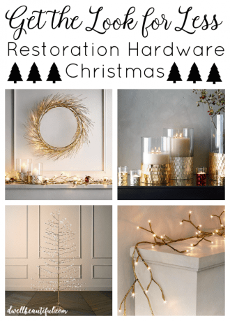 restoration hardware christmas
