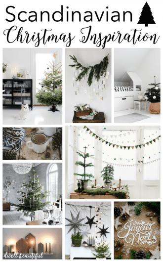 scandinavian christmas inspiration