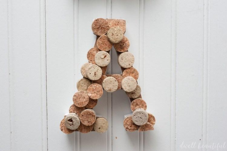 wine cork bar sign