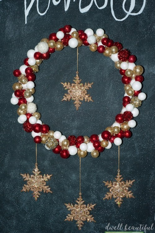 DIY Monthly Challenge: Christmas Wreath