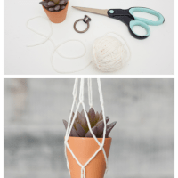 Easy DIY Macrame Plant Holder