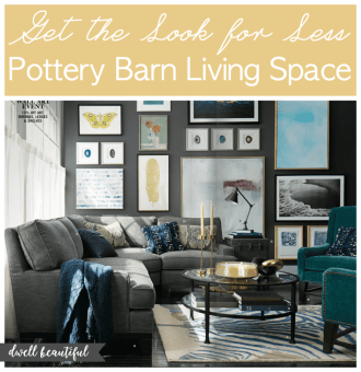 pottery barn living space