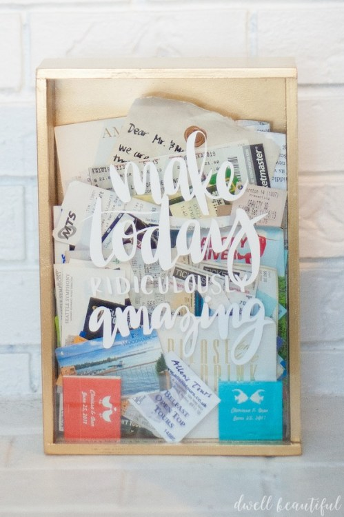 wayfair craft redux ticket memory box