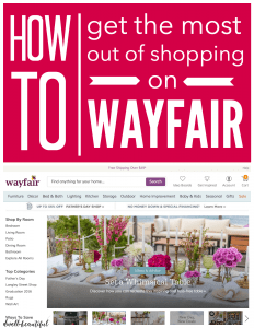 How to Get the Most Out of Shopping on Wayfair