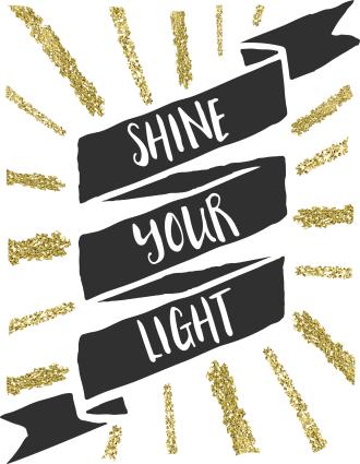 shine your light free printable art