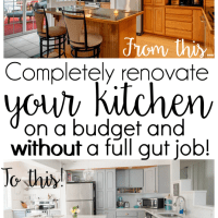 DIY Budget Kitchen Renovation - Our Gorgeous Kitchen Reveal!