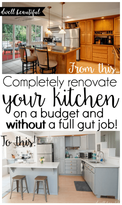 DIY Kitchen Renovation - Our New Kitchen Reveal