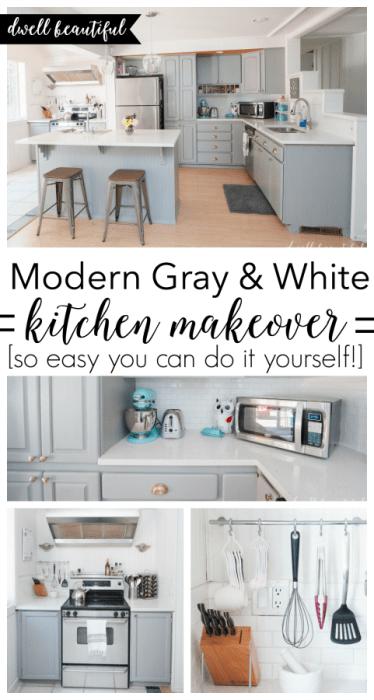 DIY Budget Kitchen Renovation - Our Gorgeous Kitchen Reveal!