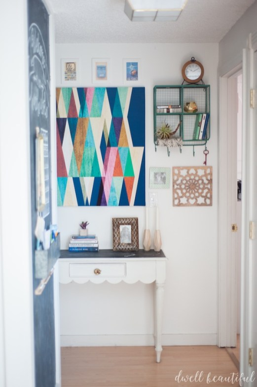 How to Save Space Using a Gallery Wall