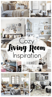 Cozy Living Room Inspiration - Dwell Beautiful