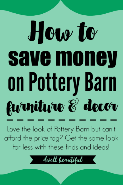 Get the Look for Less: Rustic Pottery Barn Dining Space