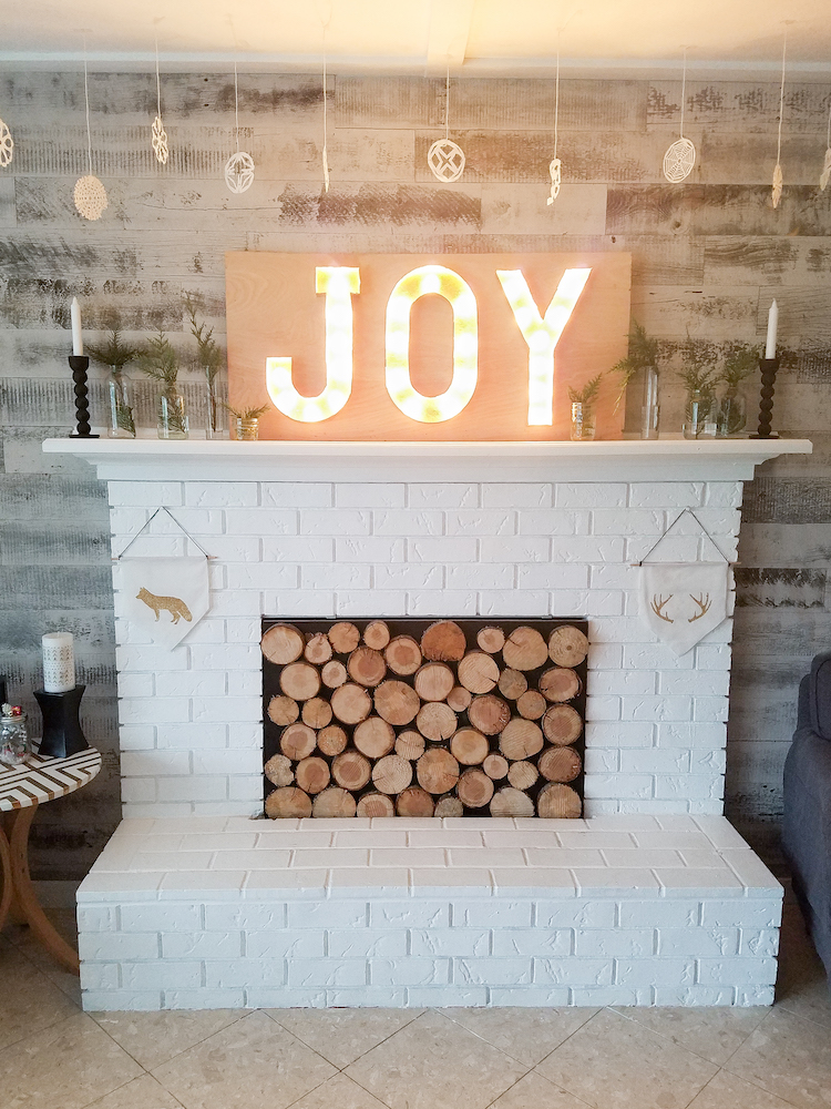 Minimalist Scandinavian Christmas Mantel Dwell Beautiful