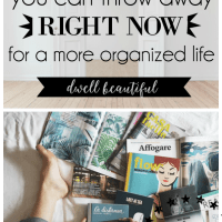 75 Things to Throw Away and Declutter for a More Organized Life