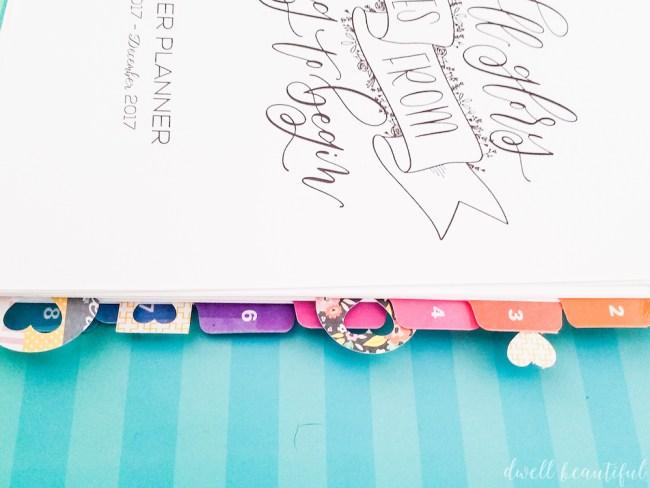 DIY Scrapbook Paper Planner Clips