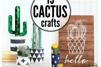 Easy DIY Cactus Crafts