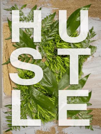 Hustle Free Printable Quote Art