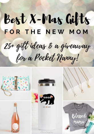 Gift Guide for New Moms Giveaway