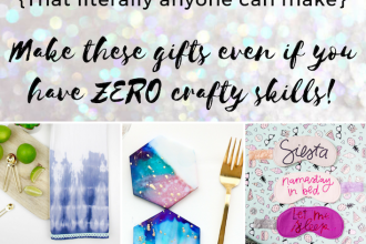 10 DIY Handmade Gift Ideas that Anyone Can Make