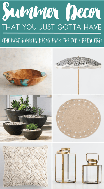 Summer Decor That You Just Gotta Have