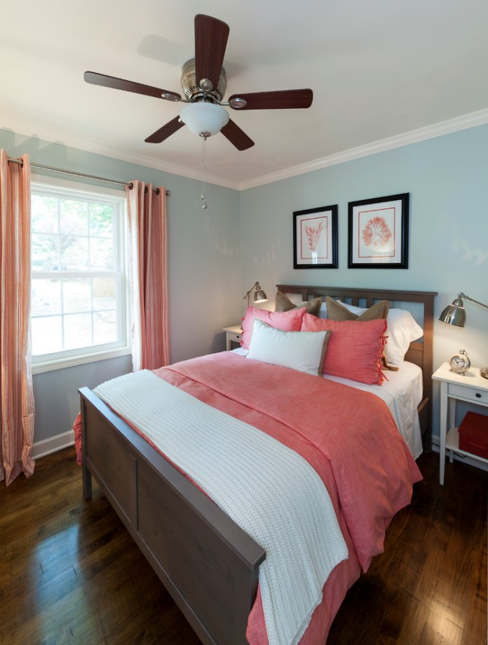 Chic-Blue-Coral-Rug-trend-Charlotte-Beach-Style-Bedroom