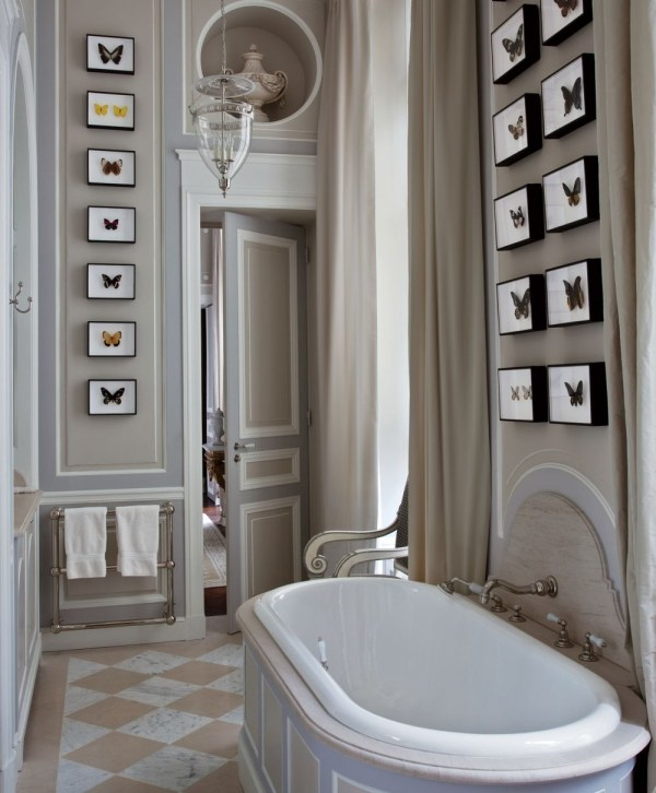 Grey and Taupe Bathroom