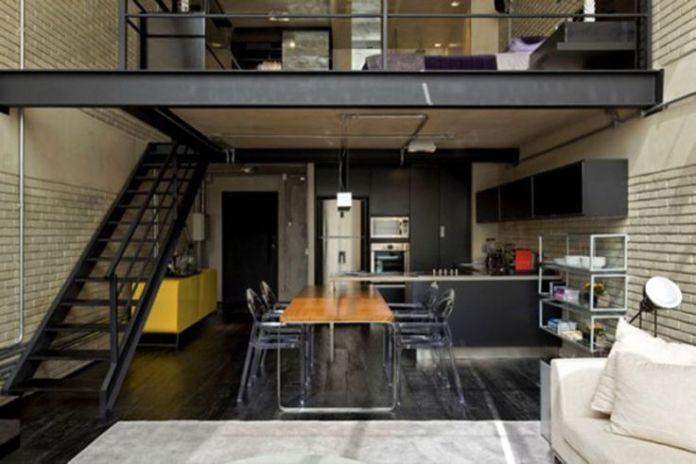 Contemporary Loft Garage Apartment
